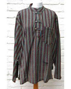 Striped Grandad Shirt