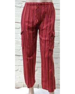 Striped Combat Trousers